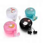 Earbuds 30104M, WITH CABLE CASE
