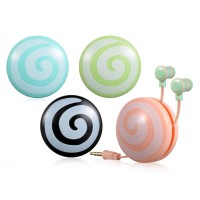 Earbuds 30119, WITH CABLE CASE