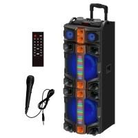 Portable Speaker 295, LED Lights