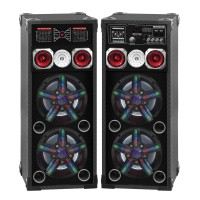 Portable Speaker 40104 (Lights on Grill)