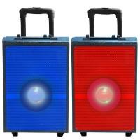 Portable Speaker 40110, Multi-Color LED Light