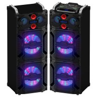 Portable Speaker 4023, Grill with Lights
