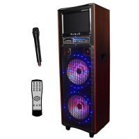"""Portable Speaker 43114, •12"""" Screen"""
