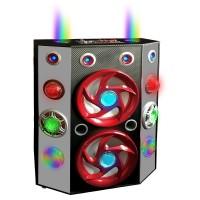 Portable Speaker 46110, 2 Pcs Ball Light & Laser Light