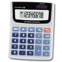 8-Digit Display Electronic Calculator