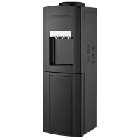 Water Dispenser with Cabinet Black/ White
