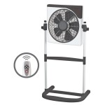 "12"" Box Fan with Stand"