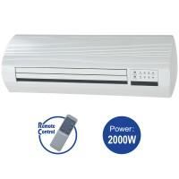 Ceramic Wall Heater 1000, Rating power: 1000W/ 2000W