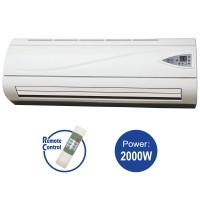 Ceramic Wall Heater 2000, Rating power: 1000W/ 2000W
