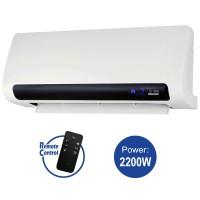 Ceramic Wall Heater 3000, 2 heat settings: 1100W / 2200W