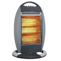 Electric Halogen Heater, 3 Heats setting: 400W / 800W / 1200W