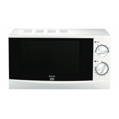 Microwave 20L Manual White/ Silver
